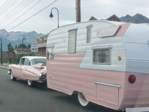 Priscilla and Elvis...on the road again