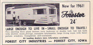 1961 Forester 24ft