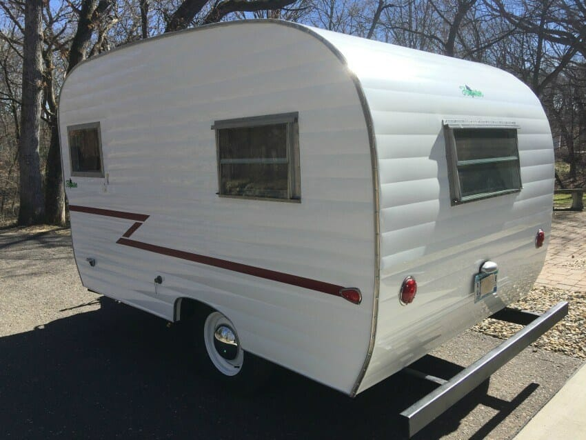 1964 forester 14' camper trailer