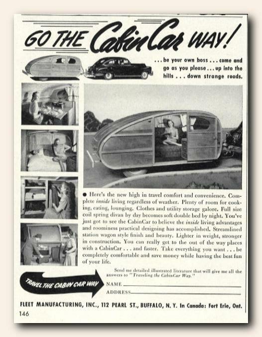 Fleet Manufacturing CabinCar