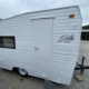 """1974 Shasta Compact Camper Vintage """"Canned Ham"""" Shape with Distinctive Wings Asking $6500 or OBO"""